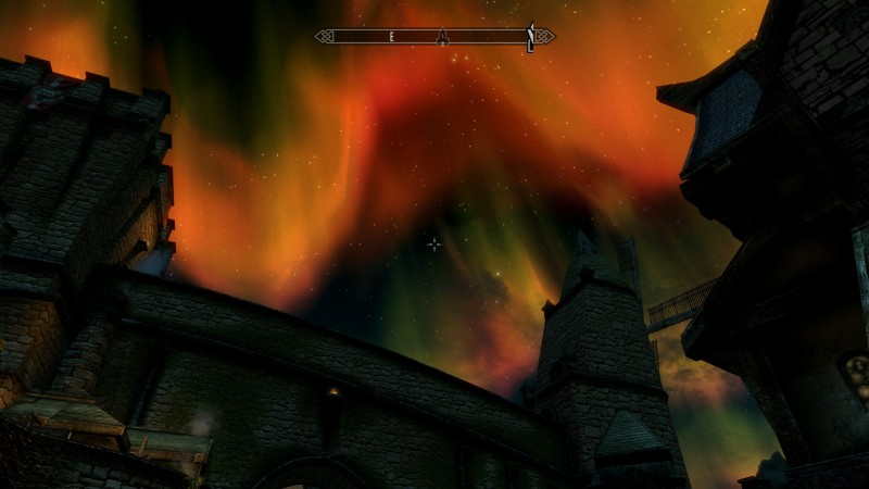 The Elder Scrolls V: Skyrim skybox